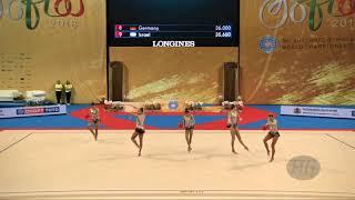 Brazil (BRA) - 2018 Rhythmic Worlds, Sofia (BUL) - Qualifications 3 Balls + 2 Ropes