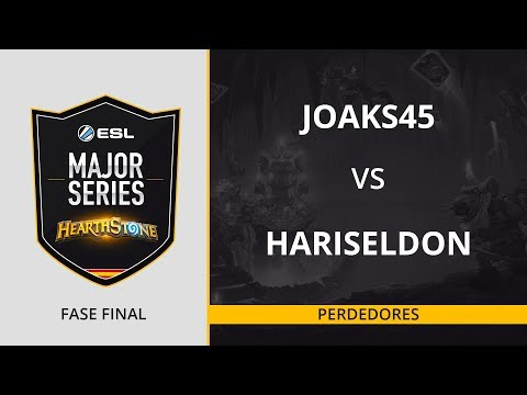 HS - JOaks45 vs. HariSeldon- Decisivo - ESL Major Series Hearthstone Finals