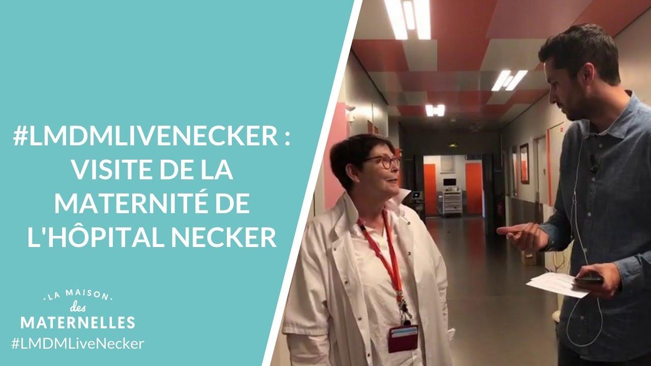 Lmdmlivenecker Visite De La Maternite De L Hopital Necker Youtube
