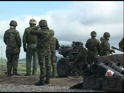 U.S. Marines and British Army train with close air support