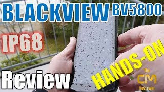 Blackview BV5800 Test : Budget Rugged Smartphone IP68  FP & Face ID ...