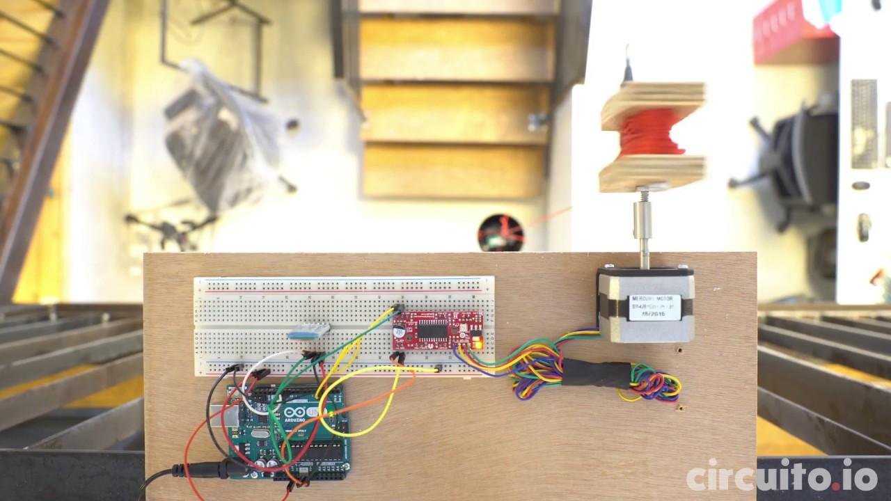Circuito Io : Arduino bluetooth controlled mini lift with circuito