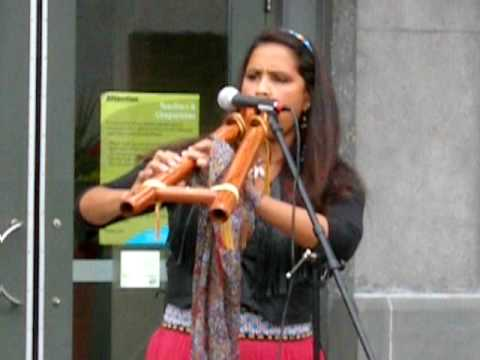 Rona Yellow Robe-Walsh:  Chasing the Wind. Native American artist.