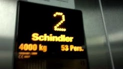 Schindler traction elevator/lift in K-Citymarket Koilliskeskus, Tampere