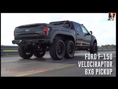 2018 Ford Raptor - Hennessey Velociraptor 6x6