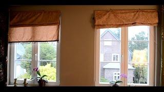 Шьём римские шторы  своими руками,модный дизайн||APIUM||