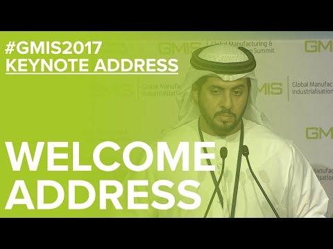 Abu Dhabi Dept. of Economic Development Welcome Address - GMIS 2017 Day 1