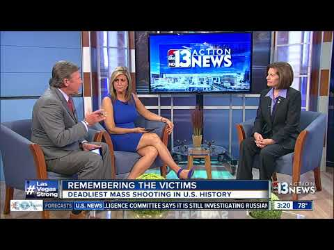 Catherine Cortez Masto talks about mass shooting