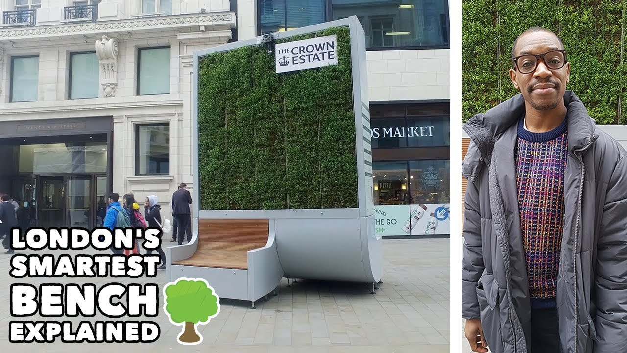 London's Smartest Bench (The CityTree) - EXPLAINED