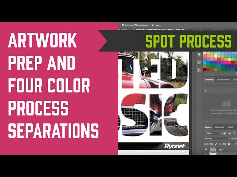 How to Make Artwork for Four Color Process Separations