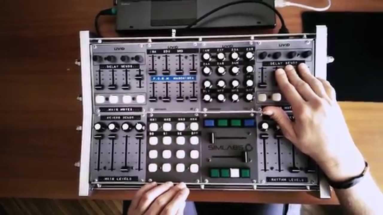 Midi Controller Custom : reason 8 custom livid modular midi controller simoniel 39 39 kein kompromiss 39 39 youtube ~ Russianpoet.info Haus und Dekorationen