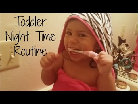 Toddler Night Time Routine (VEDA Day 20) - YouTube