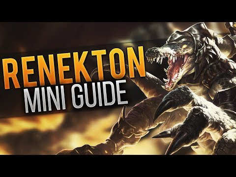 Renekton Mini Guide #9 [Guide] [League of Legends] [Deutsch / German]
