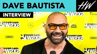 Dave Bautista Reveals His Lunchbox Collection & Gushes Over Karen Gillan!! | Hollywire