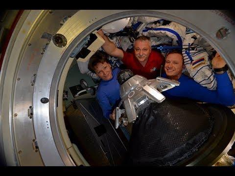 Soyuz MS-04 Hatch Closing, Undocking and Landing, 3 September 2017
