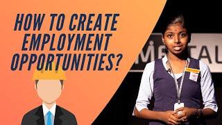 كيفية خلق فرص العمل? HARINANDANA R | فياسا VIDYANIKETHAN CHALAKUDY