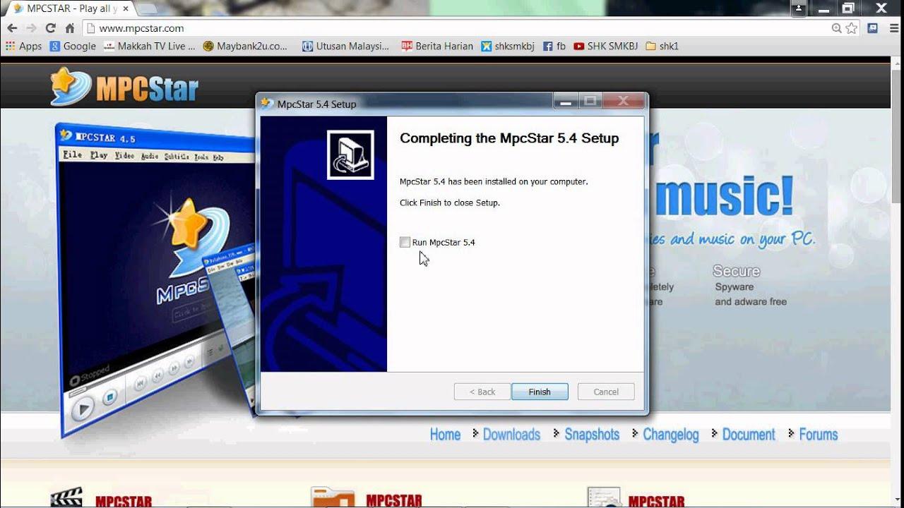 mpcstar 4.9 gratuit