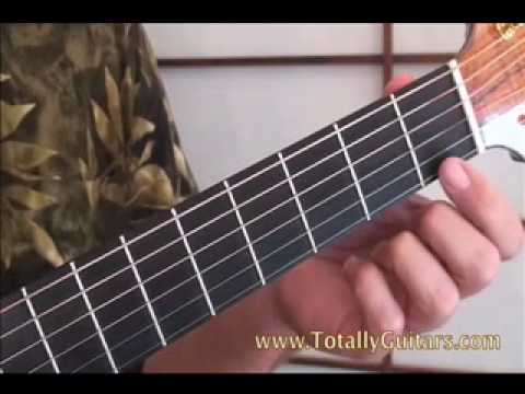Guitar Tips Easy F Chord - YouTube