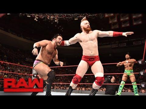 Cesaro & Sheamus vs. Nick Cutler & Willis Williams: Raw, Sept. 26, 2016