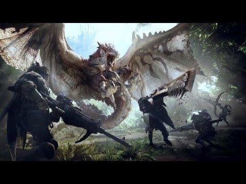 probando monster hunter world