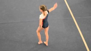 Спортивная гимнастика. Вольные 2 взрослый разряд у девочек.