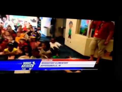Bridgepoint Elementary School on T.V!!!