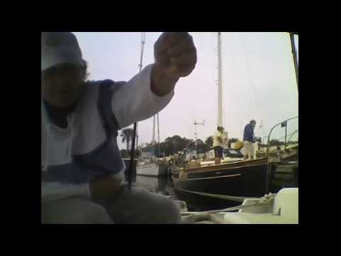 Streaming Live Fishing on my liveaboard Sailboat in Sunny Florida Tuesday morning #2
