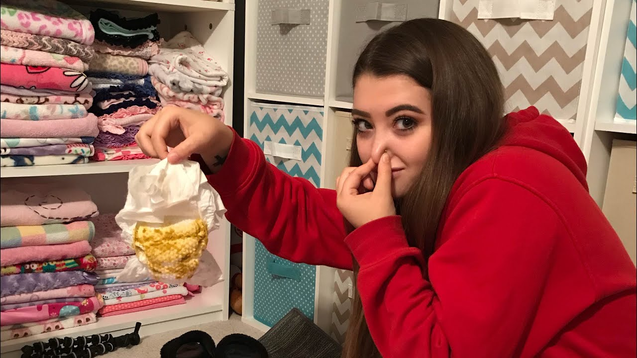 Mom Pranks Teenage Daughter With Dirty Diaper Ultimate Poop Prank