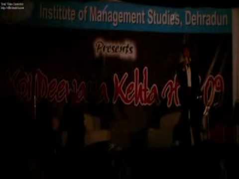 Kumar vishwas @ IMS, Dehradun4 .mp4