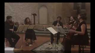 Teaser from the Brahms Clarinet Quintet Concert in Italy