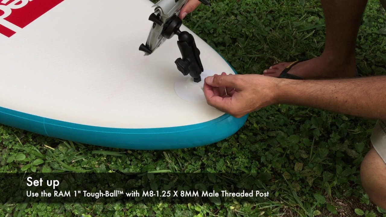 Ram Mounts On Red Paddle Co Inflatable Sups Youtube