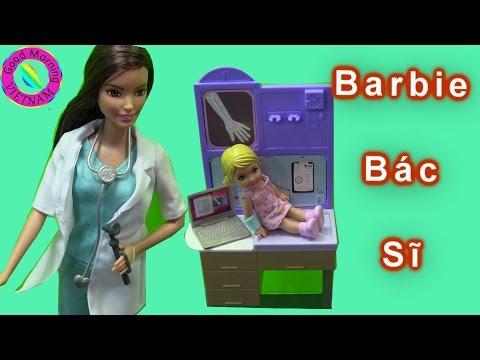 Bác Sĩ Barbie Khám Bệnh (Bộ Đồ Chơi Barbie Doctor Playset New