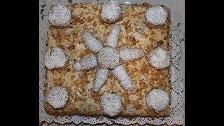 Оформление торта Наполеон