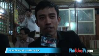 Khán giả Phố Bolsa TV ở Hà Nội có ý kiến với ông Ngô Kỷ ở Bolsa