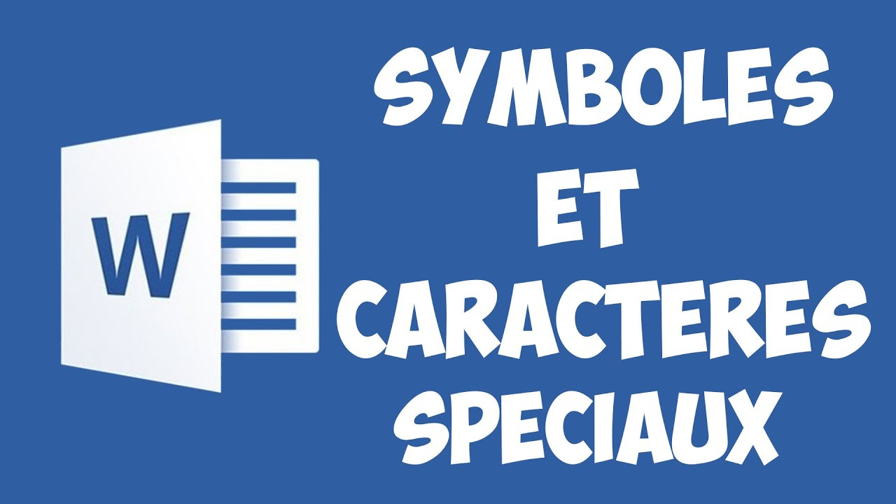 word 2016 - ins u00e9rer des symboles et des caract u00e8res sp u00e9ciaux