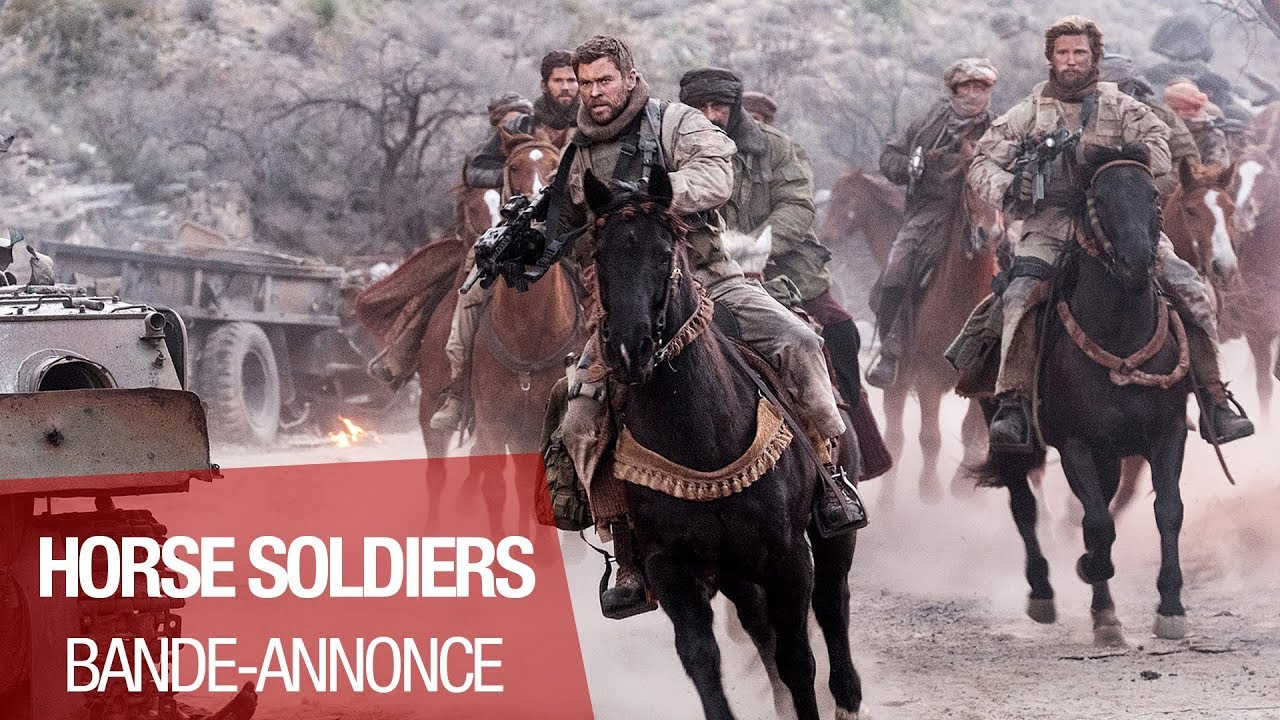 HORSE SOLDIERS - Bande annonce - VOST