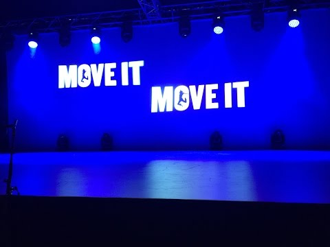 Evolution Foundation College performing at Move IT 2016 - Showcase Theatre  'One Voice'