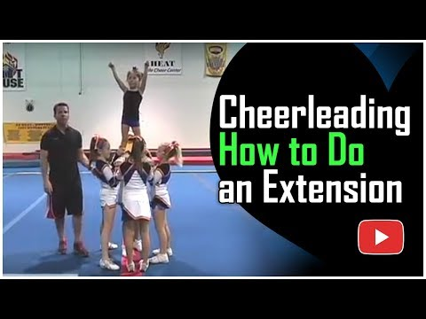 Cheerleading for Children - How to Do an Extension