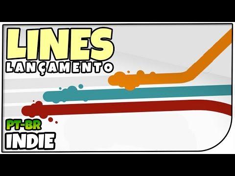 Lines - Dos Mesmos Criadores de Turmoil! Lançamento Indie! - Gameplay em Português [PT-BR]