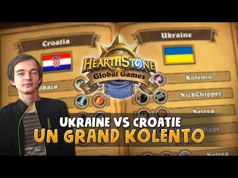 HGG UKRAINE VS CROATIE : un grand Kolento
