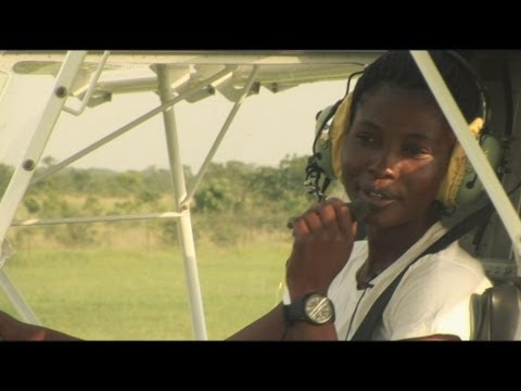 Faces of Africa - Female Pilot