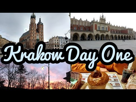 Krakow Vlog January 2018 Day One | Aparthotel Stare Miasto | Chata | Old Town | Multi Qlti Tap