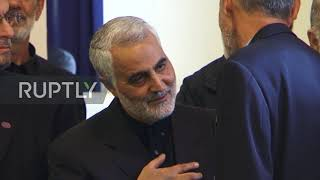 Iran: Quds Force leader Qassem Soleimani killed by US airstrike in Baghdad *ARCHIVE*