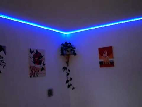 Led Strip Rgb In Unserem Wohnzimmer