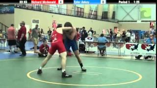 80 KG Richard Mcdonald vs Tyler Askey