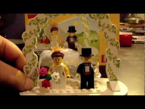 Lego Bride And Groom Wedding Minifigures Review Favors