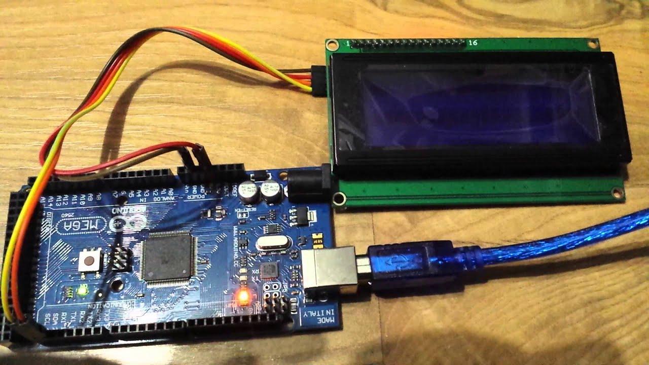 Arduino mega i lcd po c youtube