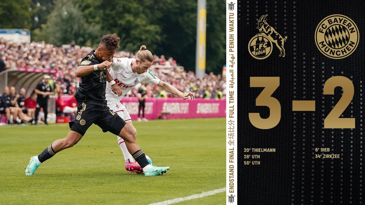 Our first friendly ends in a defeat | Highlights 1. FC Köln vs. FC Bayern 3-2