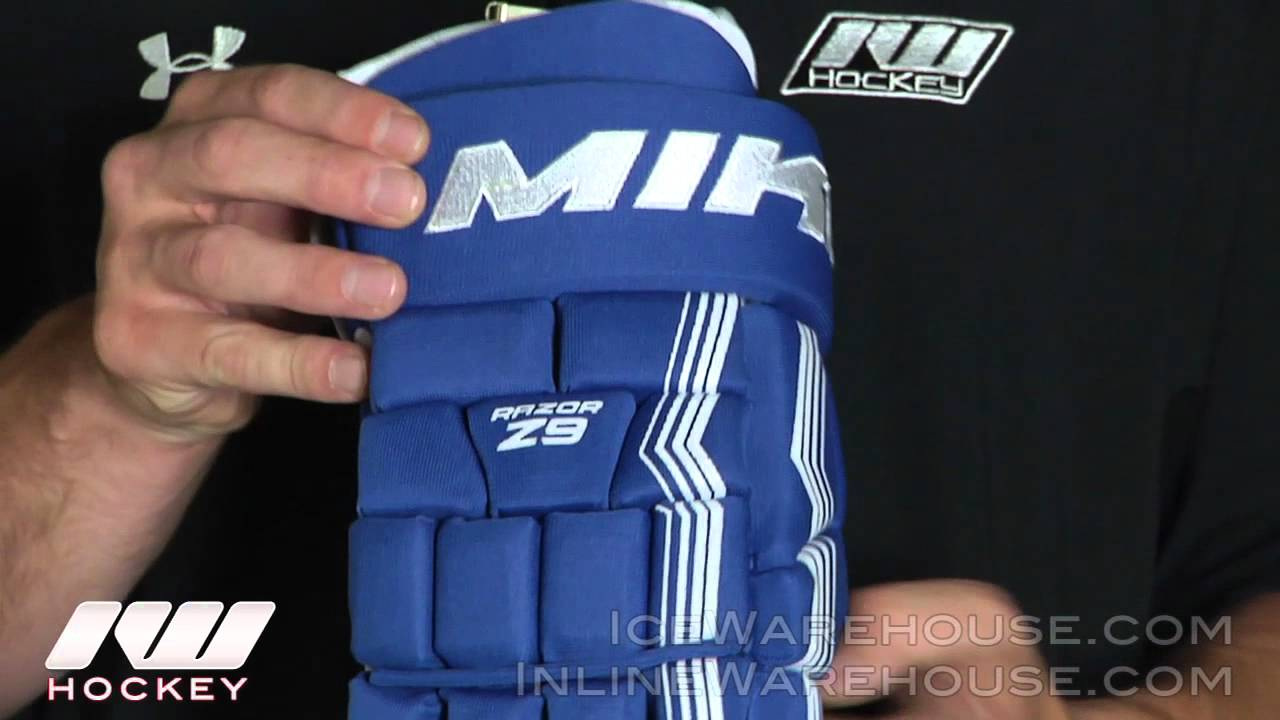 Miken Razor Z9 Hockey Gloves 2012