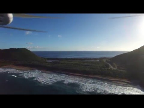 St Kitts Drone Flight from Marriot to Shipwreck Beach